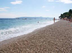 Moscenika Draga plage Croatie Pula   Voyage en Croatie